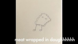 Meat Wrapped In Dough, Tracy Park, 2min, 2018, USA