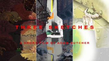 Three Sketches, Adam Butcher, 8min, 2018, UK
